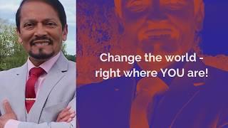 Dr Chan Abraham, Leadership International and YOU!