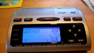 NOAA Weather Radio: Fire Weather Watch (NO EAS)