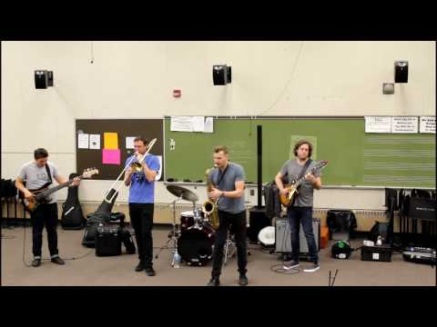 Huntertones perform at Boardman High School - 4/19/17