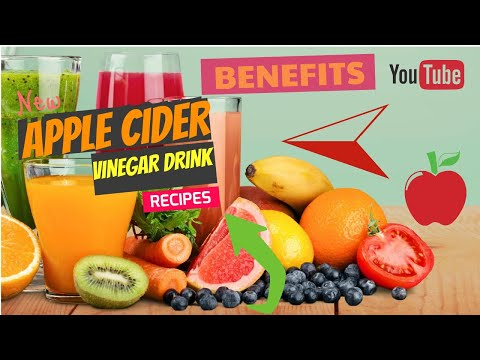 Apple cider vinegar drink recipe for weight loss