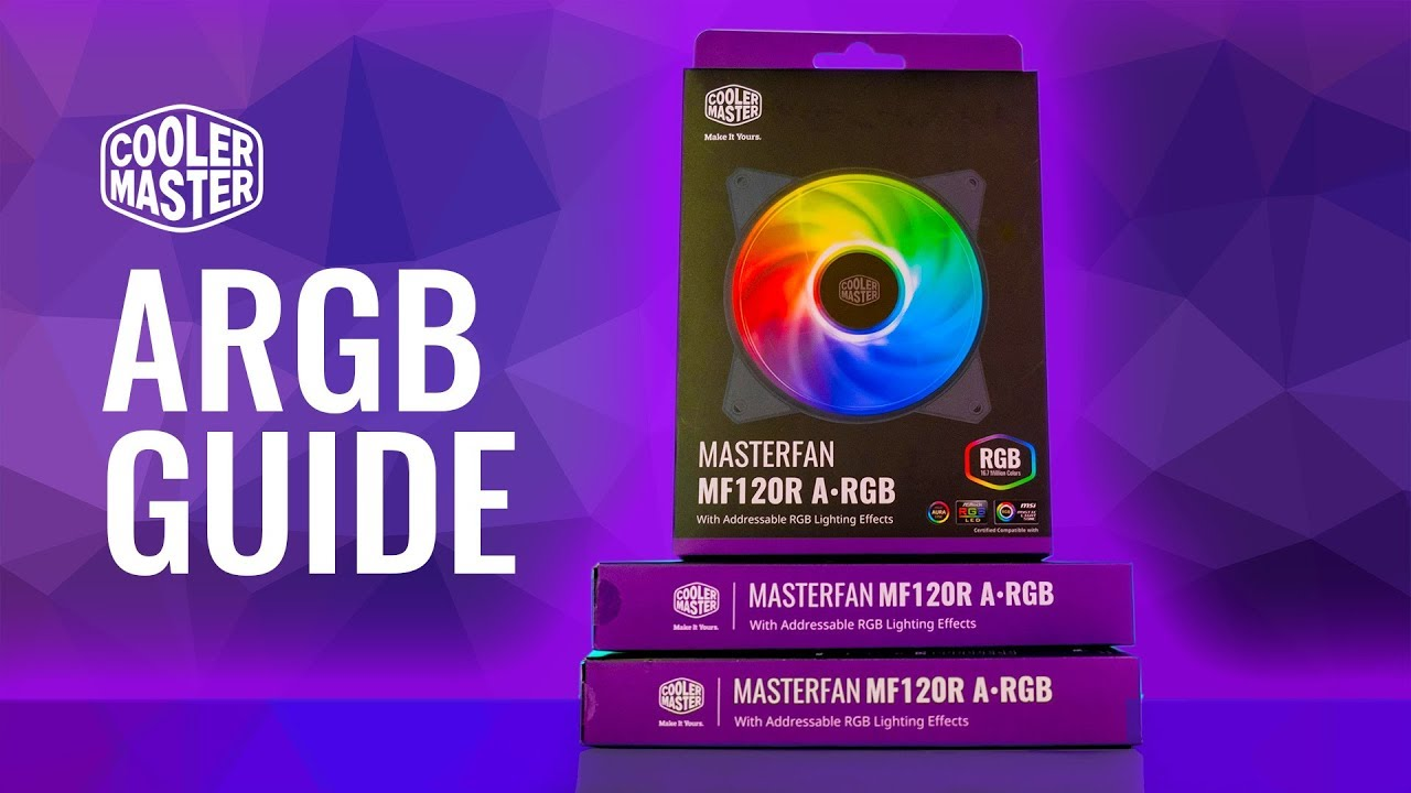 HOWTO Cooler Master A-RGB Setup and Install Guide – MF120R ARGB