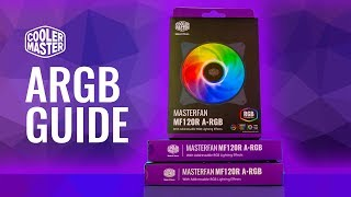 hOWTO Cooler Master A-RGB Setup and Install Guide - MF120R ARGB