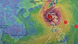 70% khả năng siêu bão Mangkhut đổ bộ vào Việt Nam
