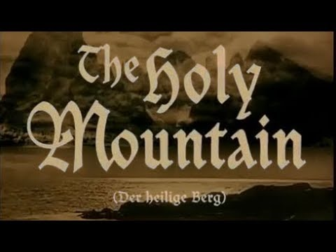 Der heilige Berg [ La Montaña Sagrada ] (Arnold Fanck, 1926)