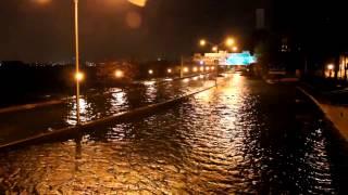 Hurricane Sandy- NYC- FDR Drive Flooded! 10-29-12 @ 10 PM