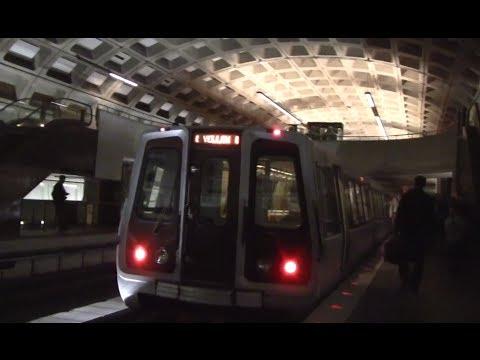 ᴴᴰ Washington Metro: Yellow Line Action at Crystal City