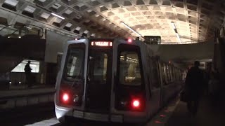 ᴴᴰ Washington Metro: Yellow Line Action at Crystal City