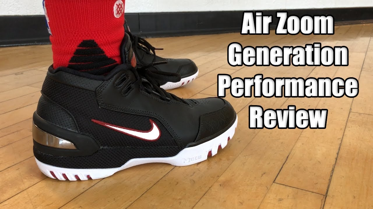 e0f7f20cd98 Nike Air Zoom Generation (Lebron 1) Performance Review - YouTube