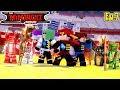 Minecraft LEGO NINJAGO - THE NINJAGO'S ARE TRAPPED BUT A MYSTERY WARRIOR SAVES THEM!!!