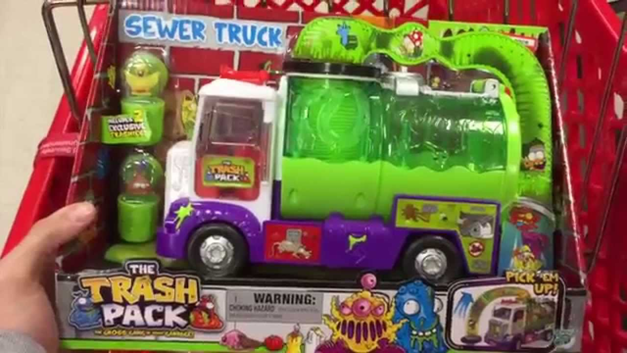 The Trash Pack Sewer Truck Robots Monsters E Toys Toy