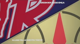 HIGHLIGHTS/ Grissin Bon Reggio Emilia - Allianz Pallacanestro Trieste 87-86