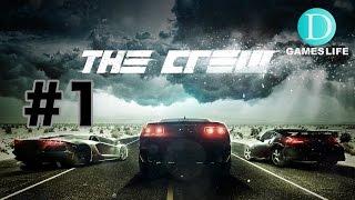 #1 ザクルー (the crew)【PS4】日本語版 実況
