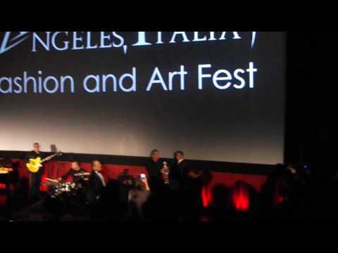 Mel Gibson Receives an Award at the Los Angeles Italia Film Festival