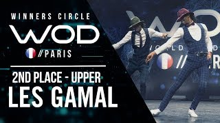 Les Gamal | 2nd Place Upper Division | World of Dance Paris Qualifier 2018 | Winner's Circle