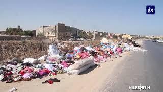 أزمة بيئية جراء تكدس النفايات في شوارع العاصمة الليبية -(3/10/2019)