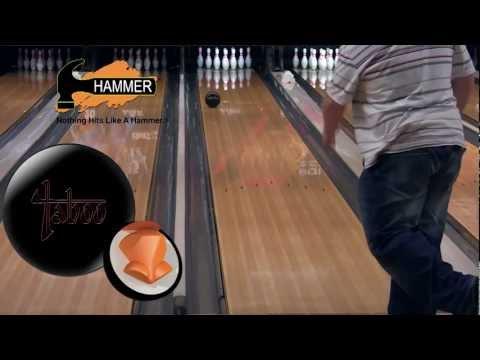 Hammer Jet Black Taboo bowling ball by Joe Stillman, BuddiesProShop.com