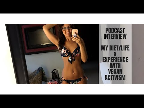 PODCAST INTERVIEW || MY DIET & LIFE & EXPERIENCE WITH VEGAN ACTIVISM