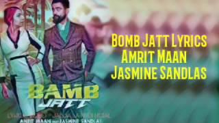 Lyrics video || Bamb Jatt Lyrics by Amrit Maan | video editing by - Jassa jatt official | HD 2K17 |