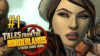 CON ARTISTS - Let's Play: Tales From The Borderlands Episode 1: Zer0 Sum PS4 Gameplay