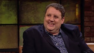 i ve just healed her she couldn t walk peter kay   the late late show   rt one