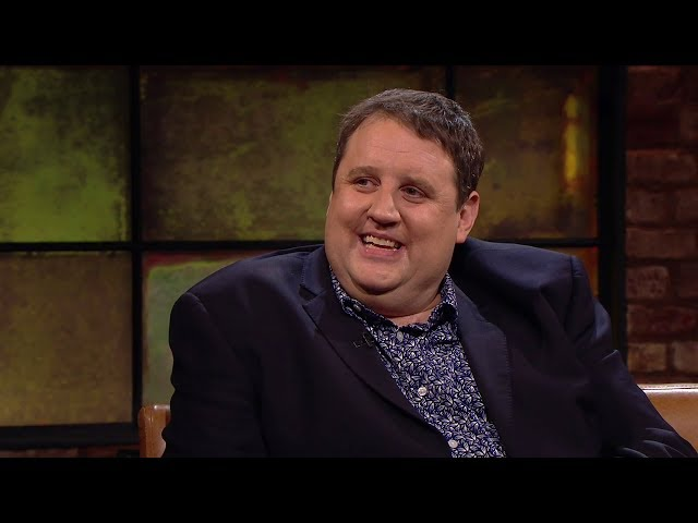 """I've just healed her. She couldn't walk!"" Peter Kay 
