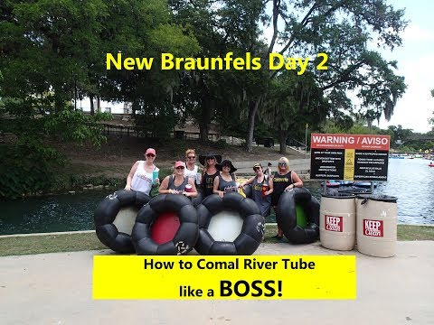 How To TUBE The River Like A Boss In New Braunfels, Texas-Day 2