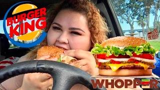 Burger King/MUKBANG