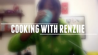 SMARTiES MiLKSHAKE || COOKiNG W/RENZiiE