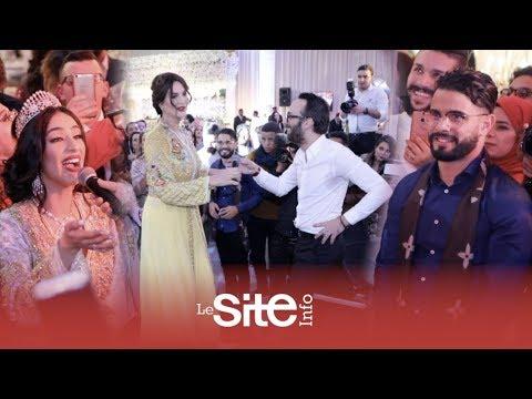 """الراقصة نور ومول البندير فوق """"القعدة"""" في زفاف ماريا نديم"""