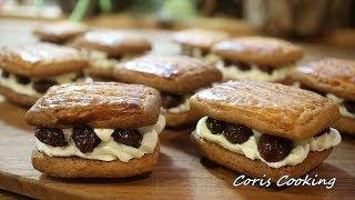 レーズンバターサンド|Coris Cooking Channelさんのレシピ書き起こし