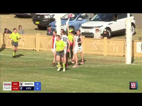 2018 Black Diamond AFL Cup Grand Final Highlights - Newcastle City Blues V Terrigal Avoca Panthers