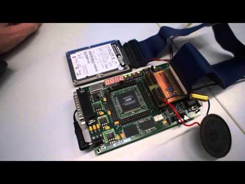 Music Player/Recorder mit FPGA und Festplatte, leise Version