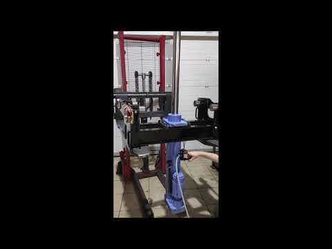 Канавный навесной домкрат 10тонн, 700мм, пневмопривод  КПН10П700  НПО Автомотив