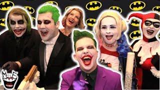 HARLEY QUINN & JOKER vs BATMAN vs COMIC CON vs PRETTY LADIES | Real Life Superhero Movie