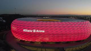 4K Allianz Arena - Munich / Drone DJI Mavic Air