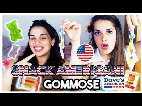SNACK AMERICANI  Caramelle GOMMOSE + CODICE SCONTO