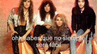 White Lion - Love Don´t Come easy (sub. español)