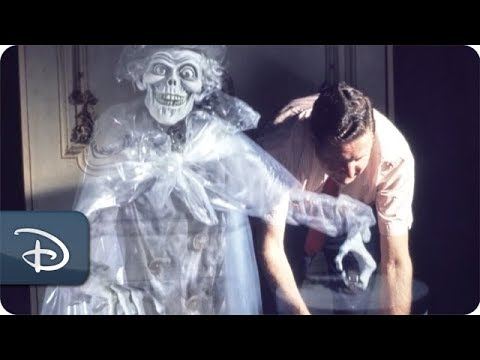 Behind the Haunted Mansion's Tombstones | Walt Disney World