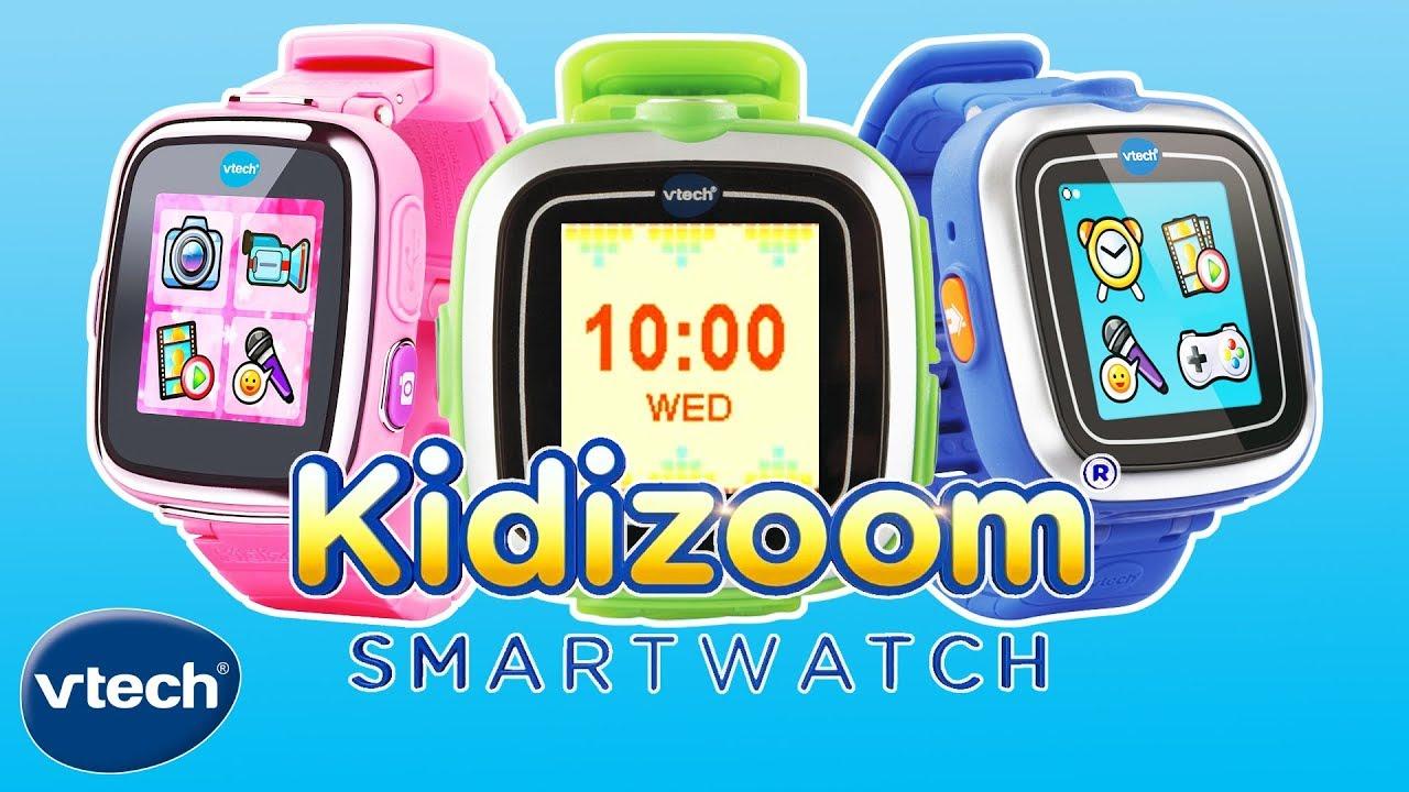 VTech Toys UK   Kidizoom Smart Watch   Toys for Kids - YouTube