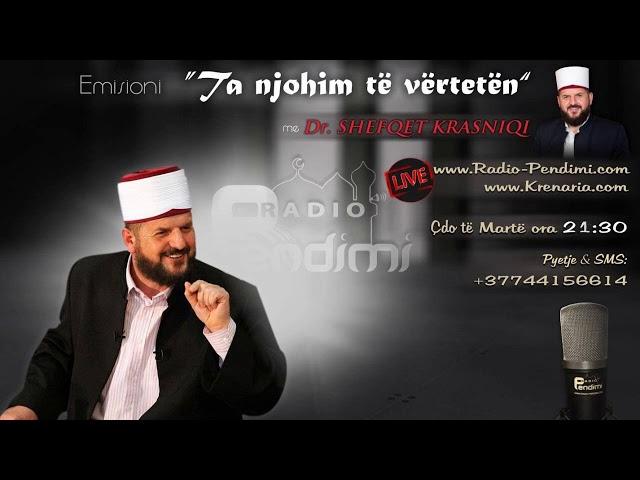Dr. Shefqet Krasniqi (Radio 10.07.2018)