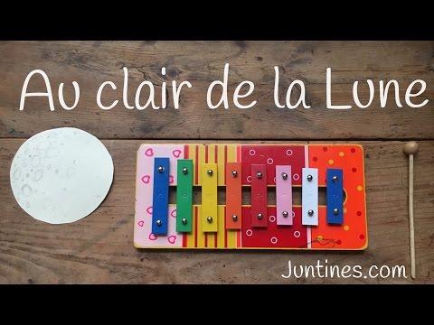 Aprende en Juntines cómo tocar Au Clair de La Lune