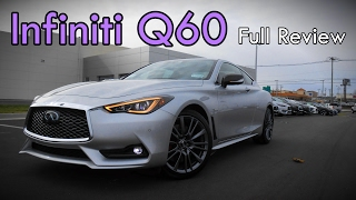 2017 infiniti q60 red sport 400 coupe full review