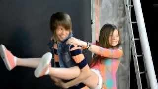 Даня и Кристи дурачатся на камеру? ||How Danya&Kristy play the fool on the camera?