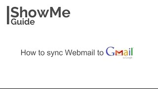 How to sync webmail to Gmail (use domain email in Gmail) in 2 mins