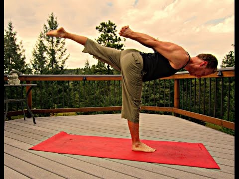 25 Minute Power Yoga for Athletes | Sean Vigue