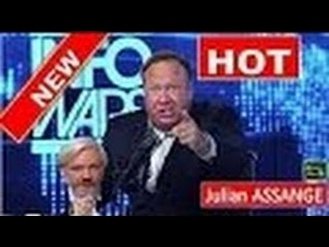 Alex Jones Goes Off On Julian Assange (NEW)