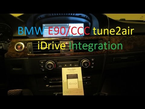 viseeo tune2air wma3000b on bmw e90 for ccc idrive. Black Bedroom Furniture Sets. Home Design Ideas