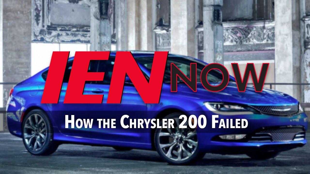 Chrysler 200 Transmission Problems >> How The Chrysler 200 Failed Youtube