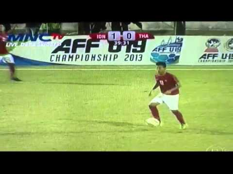 full 1st round AFF U19 Indonesia vs Thailand (3-1)  16 Sept 2013 and all goals Travel Video