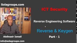 Reverse Engineering Software Part-1